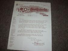 Farnley LEEDS  Noel Paton Ltd Early ENGINEERS & GEAR CUTTERS Letterhead / Letter