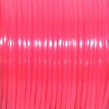100 YARDS (91m) SPOOL GLOW PINK REXLACE PLASTIC LACING CRAFTS CYBERLOX