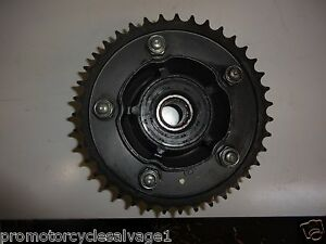 HONDA CB 1300 2003 2004 2005 2006 2007:SPROCKET CARRIER - REAR:USED MOTORCYCLE
