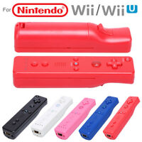 Wireless Vibration Game Remote Controller with Case for Nintendo Wii Wii U Wii U