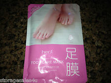 2 -Foot Care System-ROSE OIL ESSENTIAL-Foot Mask  Dry/Cracked Skin FEMALE/UNISEX