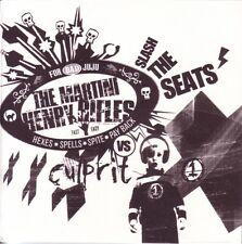 "MARTINI HENRY RIFLES - SLASH THE SEATS - NUMBERED 7"" VINYL SINGLE - MINT"