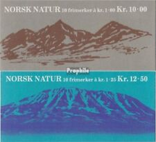 Norway 771MH-772MH (complete issue) stamp booklet fine used / cancelled 1978 Lan