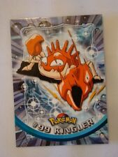 #99 Kingler - 2000 Topps Pokemon Series 2 Official Trading Card Mint