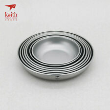 Keith Titanium Ti5371 7-Piece Plate Set (Shipped from California, USA)
