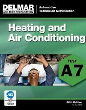 Delmar A7 ASE Auto Heating Air Conditioning HVAC Test Prep Study Manual Guide
