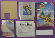 MiG 29: Soviet Fighter (Nintendo Entertainment System, 1992) Cart, Poster & Box
