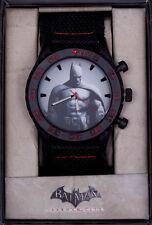 Batman - BATMAN Arkham City Canvas Strap Watch - Accutime