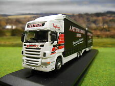 OXFORD A PETTIFOR SCANIA R480 TOPLINE CURTAINSIDER DRAWBAR UNIT 1/76 76DBU002