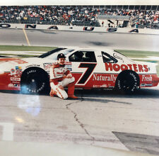 Alan Kulwicki Hooters Team Photograph full color Number 7 Free Shipping 628