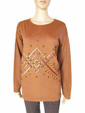 Long Sleeve Crew Neck Tall Casual Tops & Shirts for Women