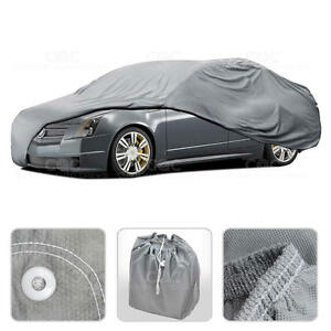 Car Cover for Cadillac CTS Outdoor Breathable Sun Dust Proof Auto Protection