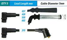 Spark Plug Leads FOR Daewoo 1.5i 1C4 Cielo KLETN Load Runner --