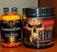 Insane Labz FEAR  / Extreme Energy / Blue Rasp & Thermocore * Free Shipping !!