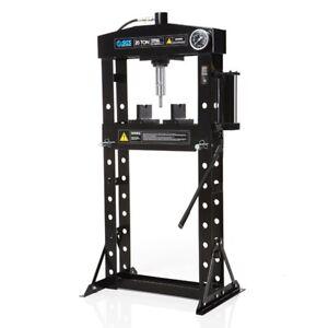 SGS 20 Tonne Hydraulic Press With Mandrels - Hand Pump