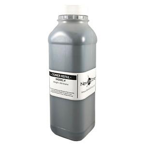 (200g) Black Toner Refill Kit For Ricoh Aficio M C250FWB + 2 Black Chips