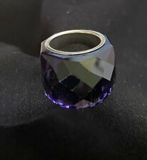 Genuine Swarovski NIrvana Purple  Ring -   Ring  55