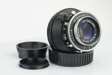 Carl Zeiss Jena Tessar red T, 1:2,8/50mm, pour Sony E-Mount | Vintage Lens