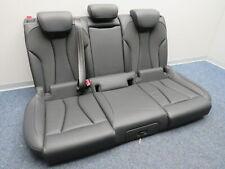 Original Asiento Trasero Cuero Negro Equipamiento Interior Audi A3 8V Sportback
