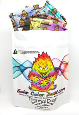 Thermal Dust (10 pieces)  Thermochromic Color-Changing pigment powders