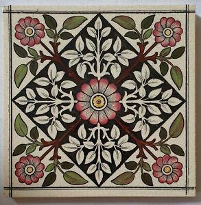 Victorian Gothic Print & Tint Tile.