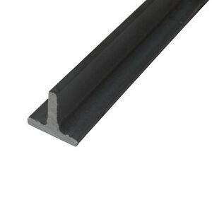 T - Stahl ST37 S235 T - Eisen blank roh gewalzt schwarz T-Profil Formstahl