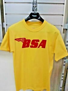 BSA MOTORCYCLE SHOP T-SHIRT ADULT SMALL