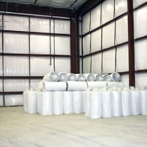 1000sqft Reflective Solid White Foil Foam Core 1/4 inch Insulation Barrier 4x250