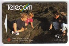 Oceania telecarte/phonecard... new zealand $5 GPT 211bd0 child family