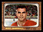 BERT MARSHALL 66-67 TOPPS 1966-67 NO 51 VGEX+ 12760