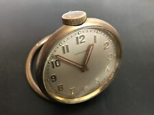 Vintage Concord Cortland Travel 8 Day 15 Jewels Desk Clock Pocket Watch Running