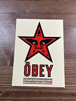 SHEPARD FAIREY Obey Giant Large Format Official Vinyl Art Sticker Salad Days