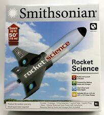 Smithsonian Rocket Science Kit * Soars up to 50' 2015