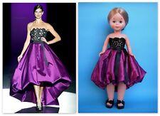 Vestido muñeca NANCY coleccion diseñador hannibal laguna NUEVO EN BLISTER