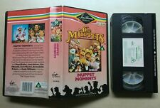 THE MUPPETS - MUPPET MOMENTS - JIM HENSON - VHS VIDEO