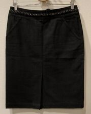 Lafayette 148 New YorkChain-Waist Pencil Skirt Sz 4