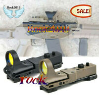 C-MORE Optics Holographic Reflex Red Dot Sight Railway Tactical Scope Hunting