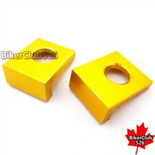 Gold 15mm Chain Adjusters Axle Blocks For Chinese Pit Dirt Bike CR50 CRF70 Motoc