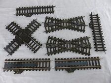 FLEISCHMANN grande echelle 0 , 35 mm lot de croisements prise 14V dételeurs