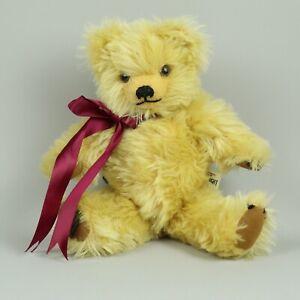 "RARE Vintage 14"" Merrythought Bear Plush Jointed Harrods England Ironbridge"