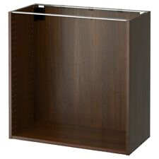 IKEA SEKTION Base cabinet frame, wood effect brown 30 x 14 3/4 x 30 502.654.08
