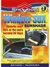 Shevron Window Sox Socks Sun Visor For Ford Everest UA 07/2015 On (WS16512)