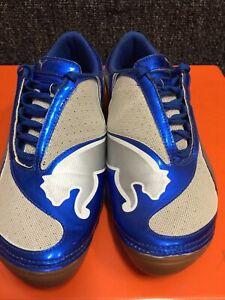 Puma V1.08 Royal Blue White Silver Size 10.5 IC Men's Only