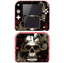Vinyl Skin Decal Cover for Nintendo 2DS - Mystic Skull