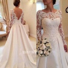 Elegant Long Sleeve Bridal Bolero Wrap White Wedding Jackets Lace Applique Ivory