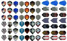 21 Sets of 2D Aluminum Dart Flights Sale! Fits ALL Darts! Wholesale Price!