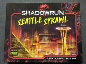 OEJ ~ Shadowrun 5th Edition ~ Seattle Sprawl Box Set ~ COMPLETE