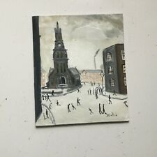 ST Simons Church, Salford.Original Oil Painting direct from artist john Goodlad