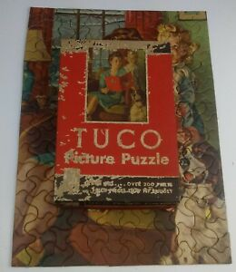 Vintage Tuco Jigsaw PUzzle -Bedtime Story-