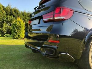 P-Performance Rear Bumper Side Flaps Fins Extensions Wings For BMW X5 F15